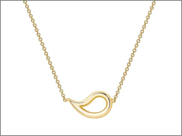 Collana in oro della collezione Pétale