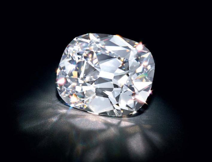 Anello con diamante da 20,47 carati