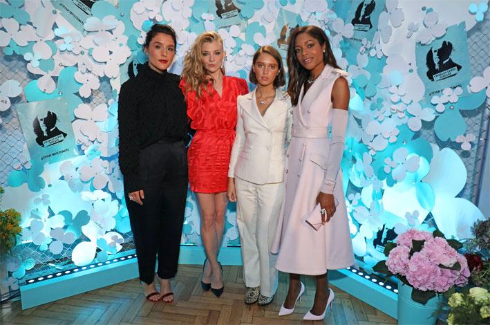 Jessie Ware ,Natalie Dormer, Iris law, Naomie Harris