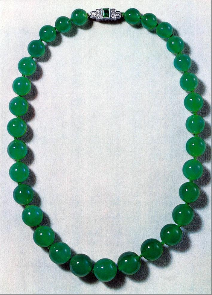Collana di giada imperiale