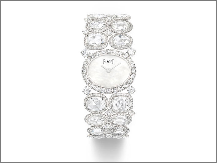 Piaget, orologio in oro bianco e diamanti