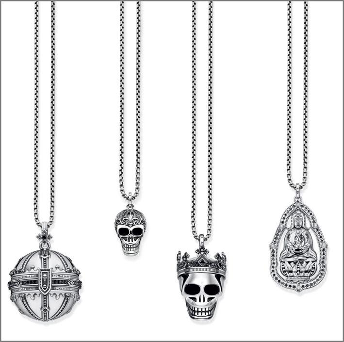 Thomas Sabo, pendenti in argento