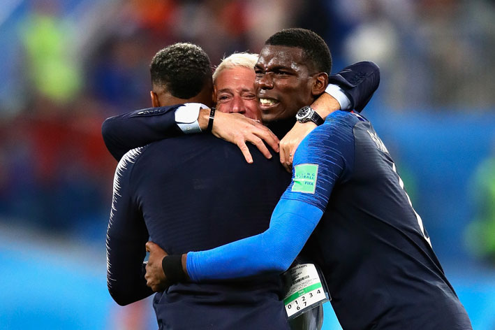 Didier Deschamps, finale di partita
