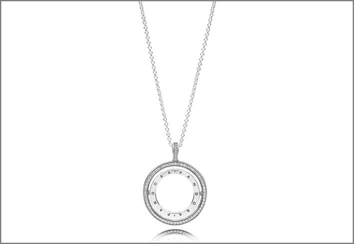 Collana con pendente in argento