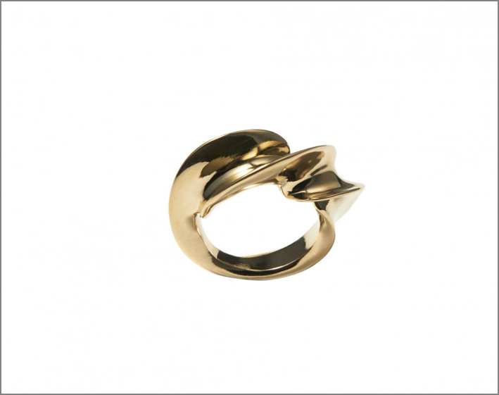 Spin ring, in argento o vermeil