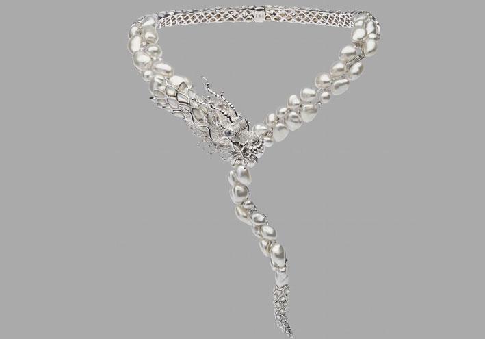 La collana vincitrice al Couture di las Vegas per la categoria Best in Pearls