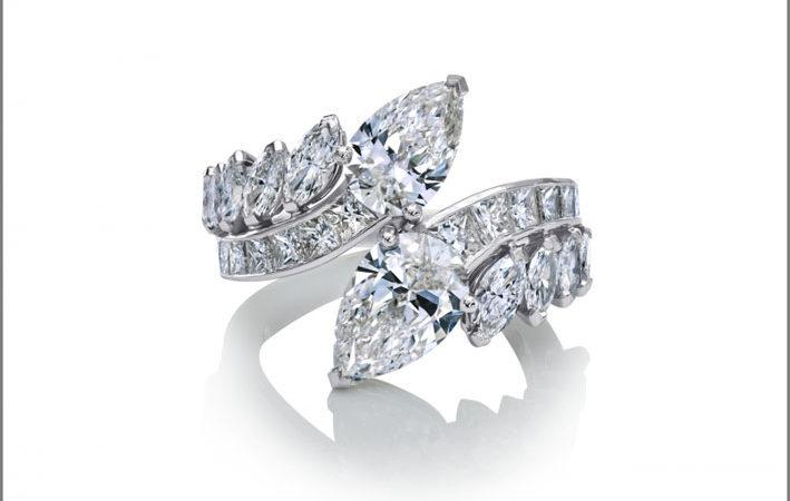 De Beers, anello moi et toi della linea Cupido