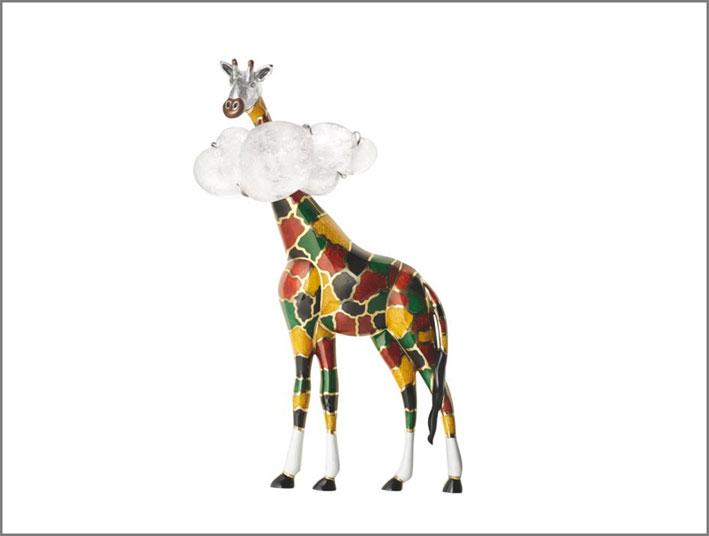 Spilla Giraffa della collezione Trésors d'Afrique