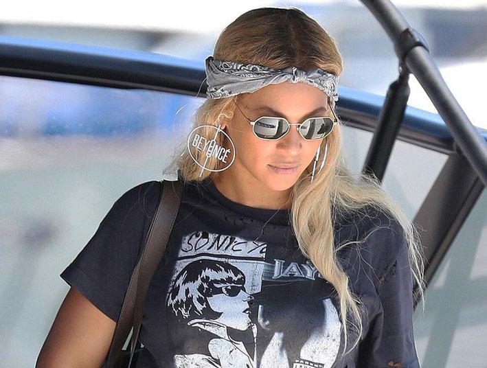 Beyoncé con orecchini di Messika