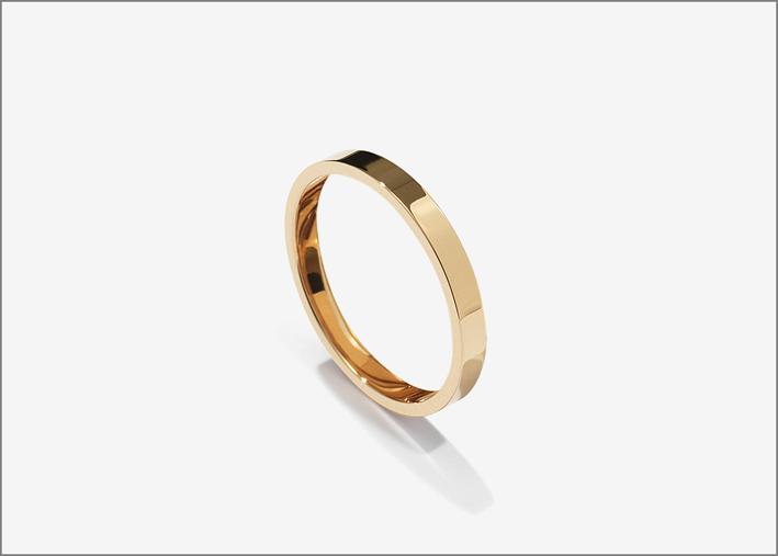 Gaia Repossi, anello in oro rosa