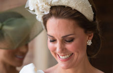 Kate Middleton al battesimo del principe Louis