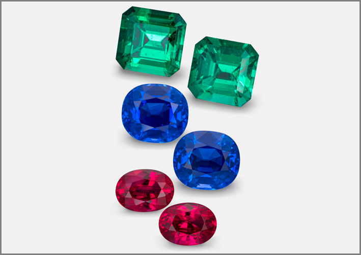 Smeraldi colombiani, zaffiri del Kashmir e rubini birmani di Amba Gem