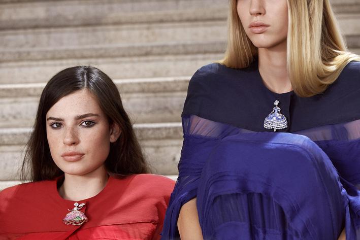 Spille della collezione di alta gioielleria Van Cleef & Arpels