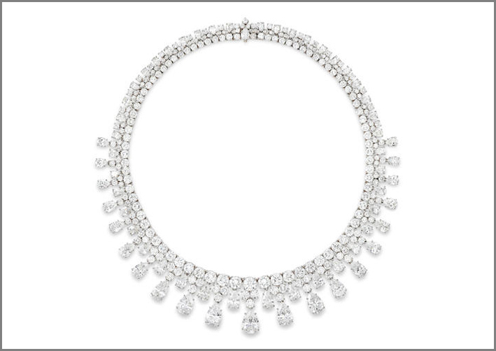 Collana di diamanti di Harry Winston, 1984