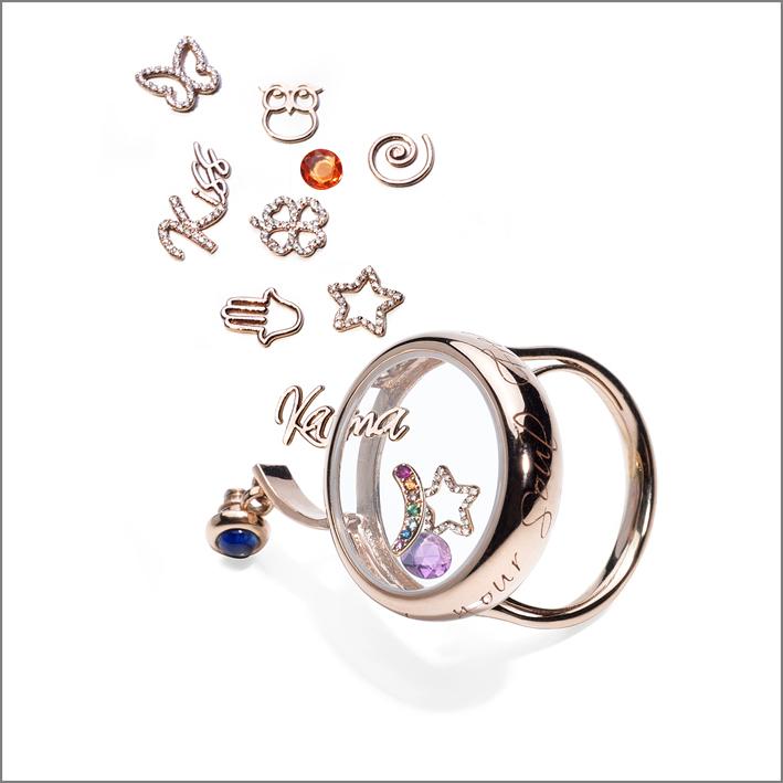 Composizione del Soul Clock Ring