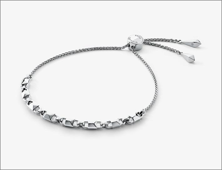 Michael Kors, bracciale in argento sterling