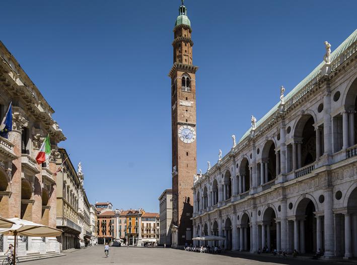La Basilica Palladiana in Piazza dei Signori, a Vicenza