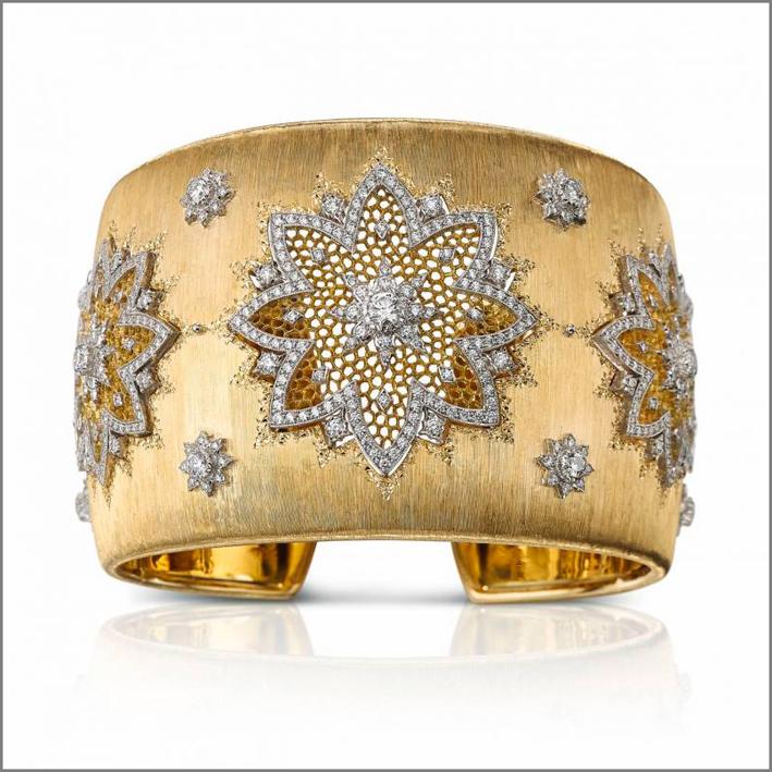Bracciale in oro e diamanti di Buccellati