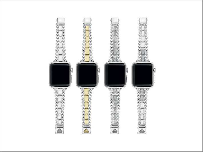 Apple Watch avec de l'or et des diamants