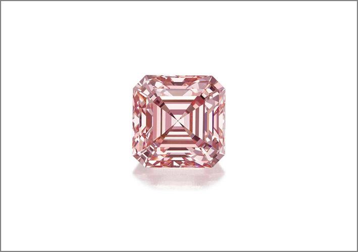 Diamante rosa da 5 carati