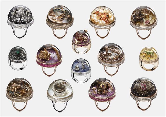 Gli anelli di Dream Boule