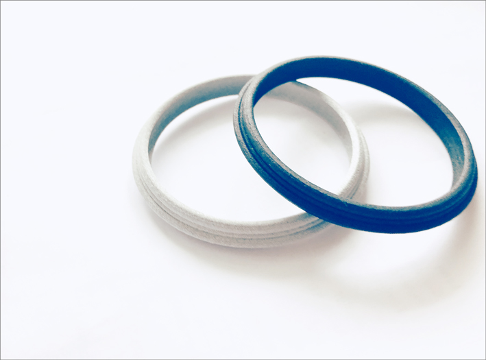 Bracciali Pneus, stampa 3D