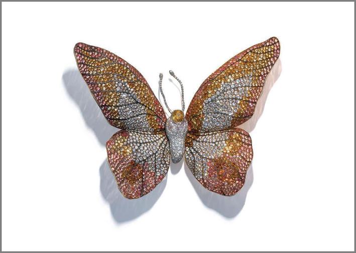 Jar, spilla Butterfly