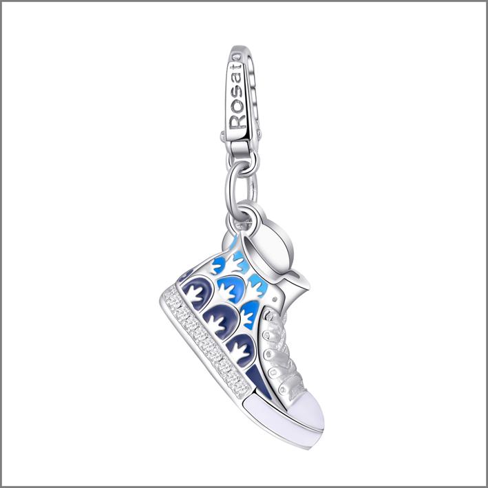 Charm della linea My Shoes, in argento e smalto