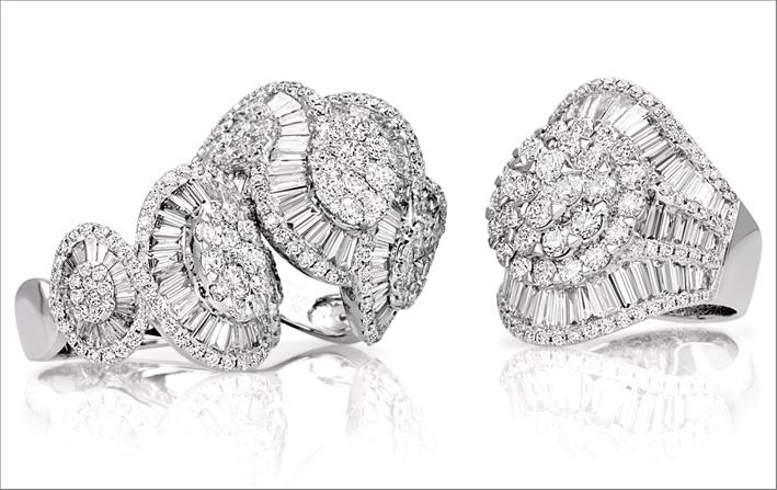 Anelli con diamanti di Govone GIoielli