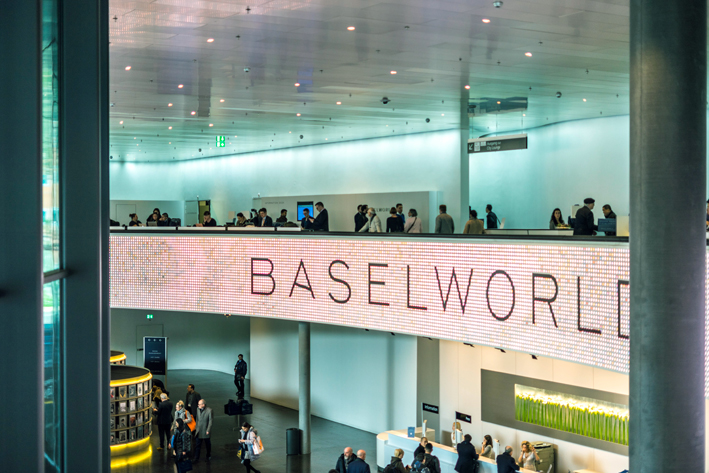 Sala stampa a Baselworld