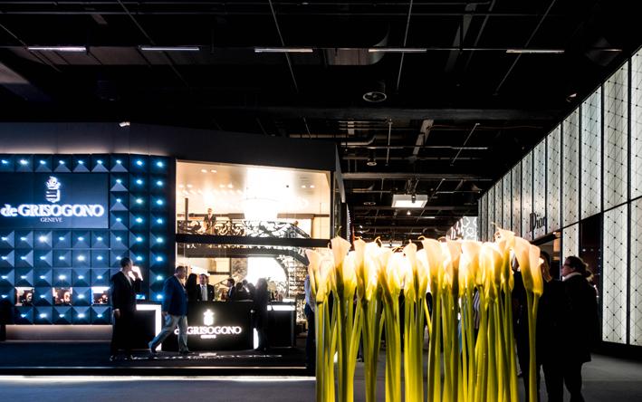 Il booth di de Grisogono a Baselworld