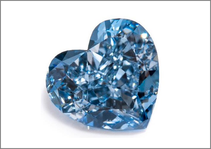 Diamante blu Fancy Vivid blu da 3,42 carati