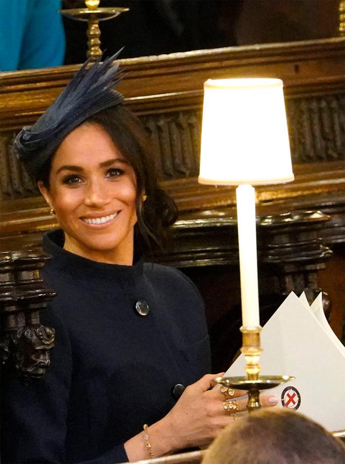 Meghan Markle al matrimonio della principessa Eugenie