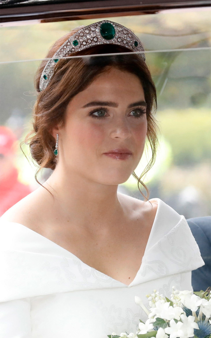 Princess Eugenia con la tiara