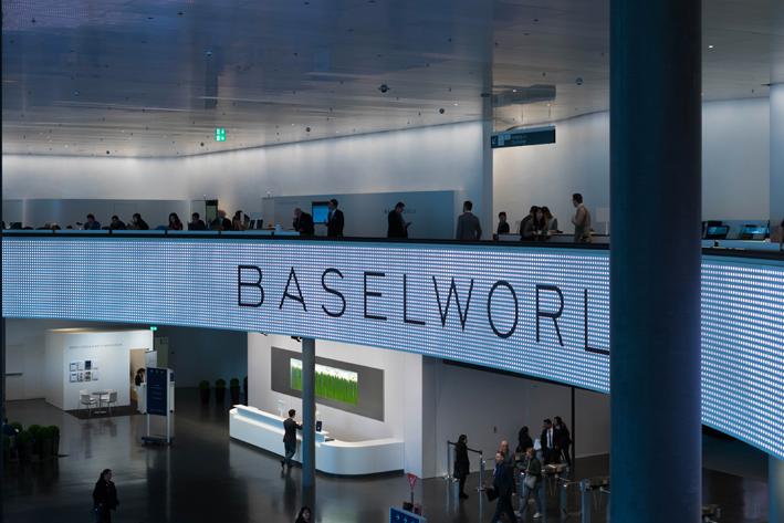 La sala stampa a Baselworld