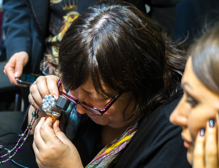 Expertise di gioielli a Baselworld