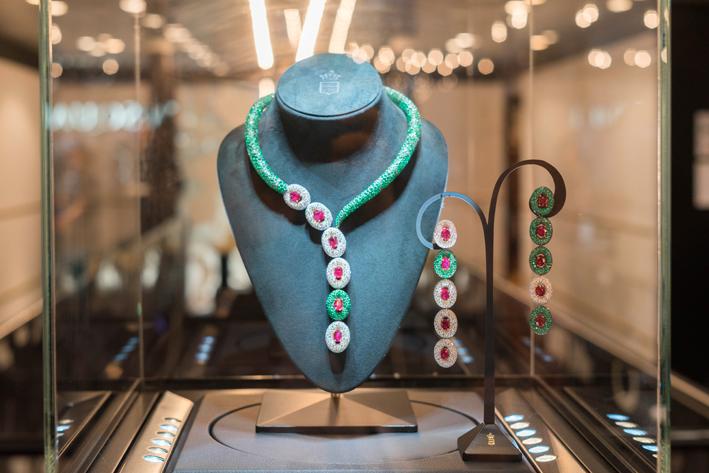 Una collana di alta gioielleria di de Grisogono