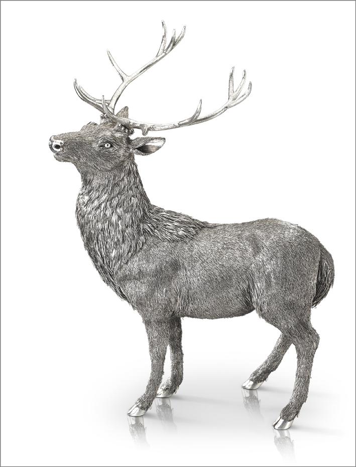 Buccellati, Cervo in argento