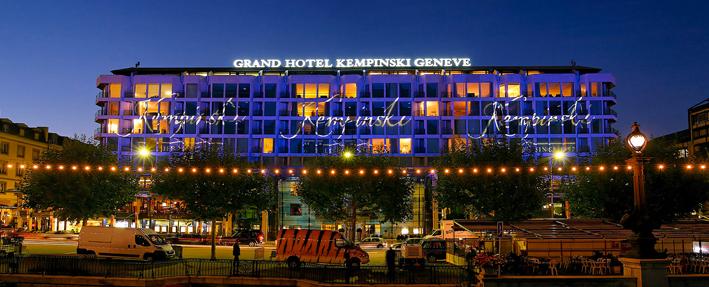 Grand Hôtel Kempinski, Geneva