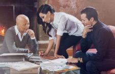 Pasquale, Eugenia e Daniele Bruni