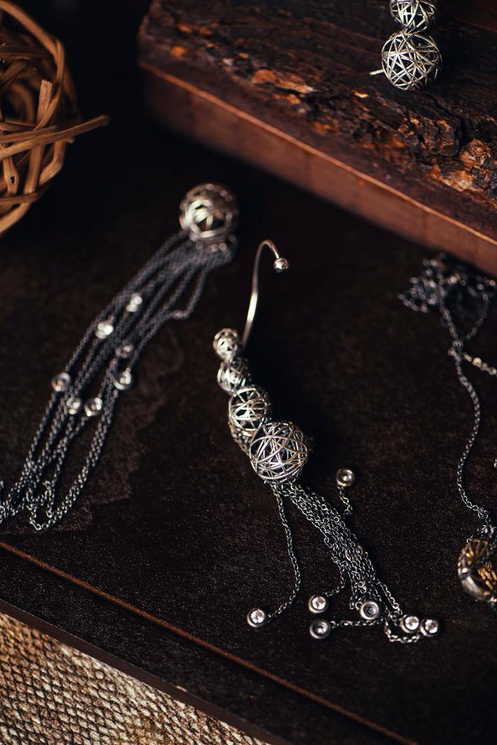 Gioielli in argento della collezione Cipò