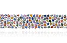 Bracciale Rainbow di Sutra, 110 carati di zaffiri multicolori