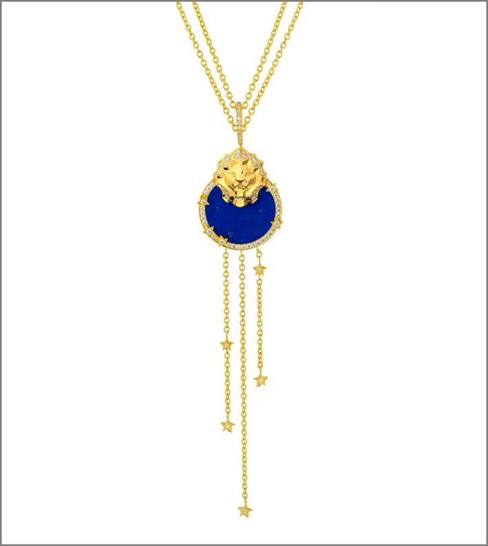 Chanel, collana della collezione Sous le Signe du Lion