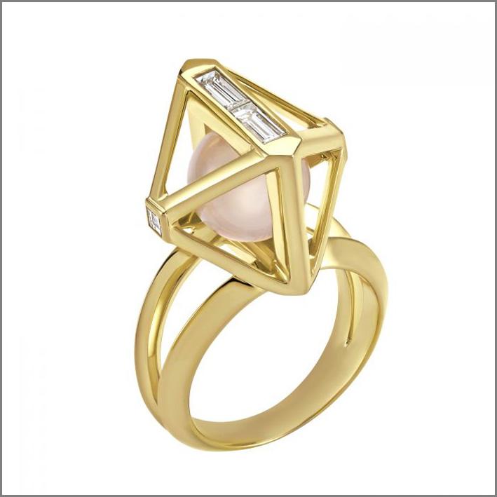 Stephen Webster, anello della collezione Double Diamond