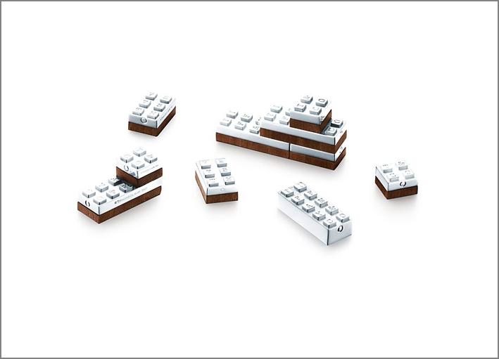 Lego in argento