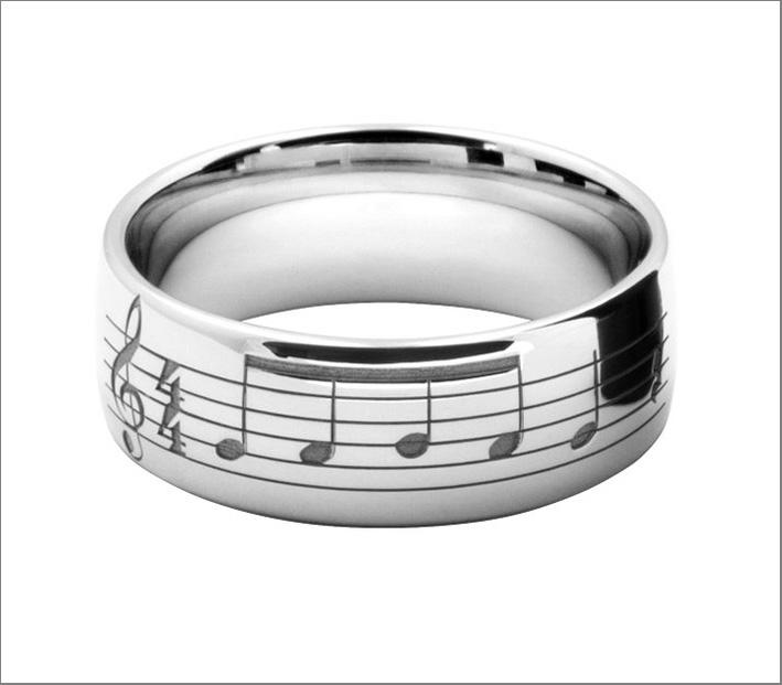 Lushwedds, anello con le note della marcia nuziale