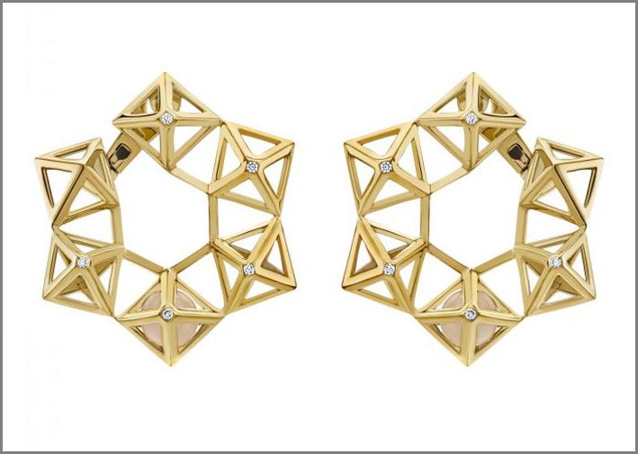 Orecchini Atelier Swarovski  collezione Double Diamond