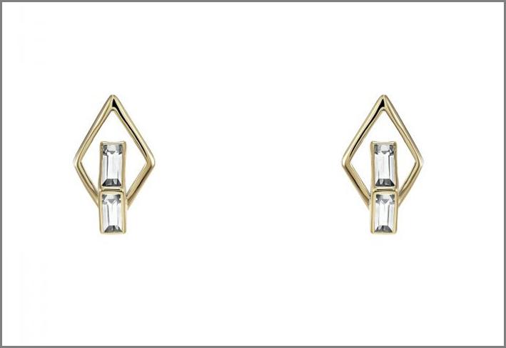 Orecchini collezione Double Diamond