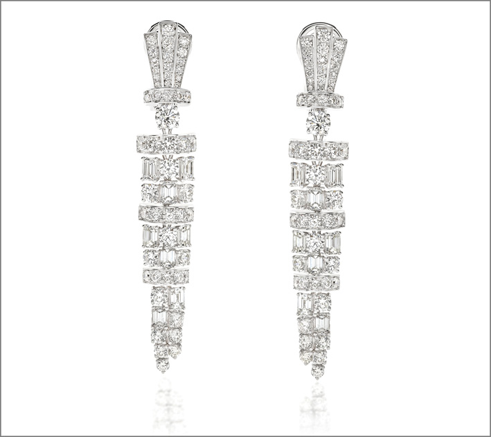 Pyramis earrings by Picchiotti