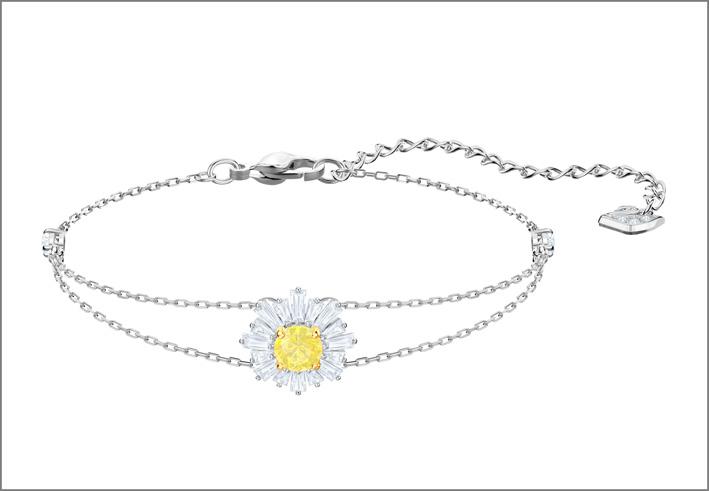 Bracciale Sunshine in versione oro bianco
